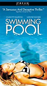 Swimming pool vhs charlotte rampling charles dance ludivine sagnier jean marie for Charlotte rampling the swimming pool