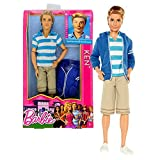 "Mattel Year 2012 Barbie ""Life In The Dreamhouse"" Series 12 Inch Doll Set - KEN (BFW77) With White Bl"