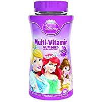 Disney Princess Multi Vitamin Gummies, 180-Count