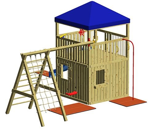 WINNETOO Spielturm GP813 Giga