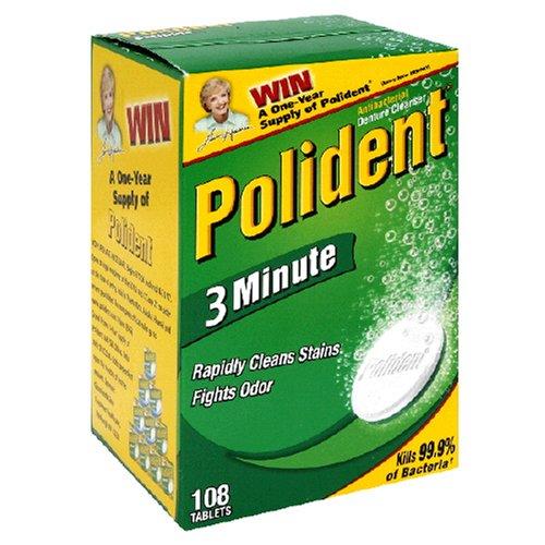 Polident Double Action Denture Cleanser, Tablets 84 ea