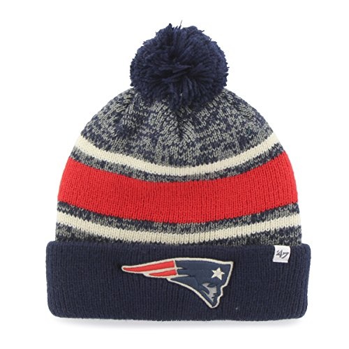 NFL New England Patriots '47 Fairfax Cuff Knit Hat with Pom