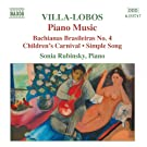 Villa-Lobos: Piano Music, Vol. 4
