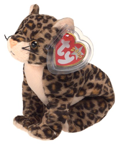 TY Beanie Baby - SNEAKY the Leopard - 1