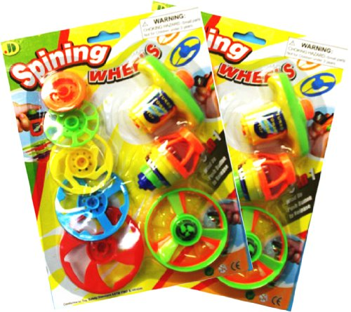Anti-Gun Non-Gun Toy For Boys Whirling Disk Launcher Spinning Top Toy 2 Pack - Best Stocking Stuffer Gift Ideas For Boys Girls Kids (Whirly Top 2 Pack) front-828784