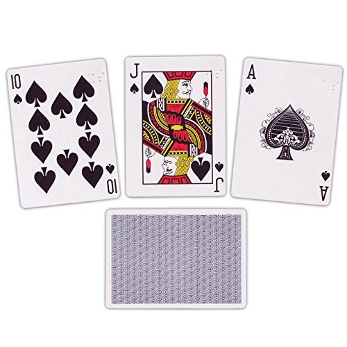 Braille Playing Cards- Brailled One Corner Only - 1
