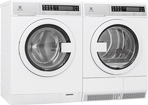 Electrolux EIFLS20QSW Front Load Washer & EIED200QSW Electric Dryer Set (Side by Side Installation)