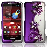 Extra-Terrestrial Rubberized Design Cover for Droid Razr M