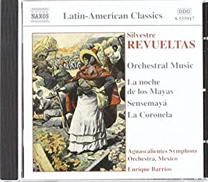 Orchestral Music Barrios Aguascalientes So by Naxos