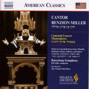 Cantorial Concert Masterpieces (Milken Archive of American Jewish Music)