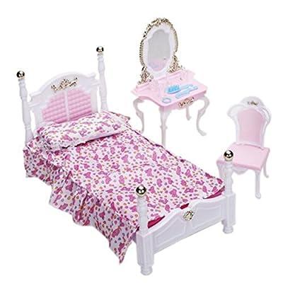 Vorcool-Miniatur-Möbel-Schlafzimmer-Möbel für Puppenhaus günstig