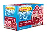 Emergen-C Heart Health Black Cherry Fizzy Drink Mix 30 Sachets