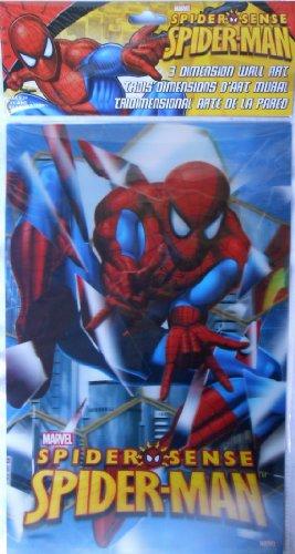 3D Wall Art 17 x 11 inch - Spider Sense Spider-Man