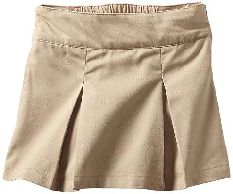 Dickies Big Girls' Pleated Skooter, Desert Sand, 4 Regular - Dickies Pleats Skirt