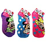 Disney Minnie Mouse Small Children Socks (3 Pack) Size 6-8