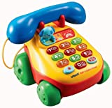 51AMqnrHWBL. SL160  Vtech   Pull & Lights Phone