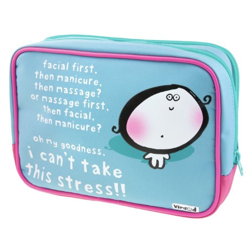 Vimrod Makeup Bag - Facial first, then manicure...