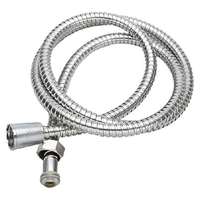 2M Flexible Stainless Steel Chrome Shower Head Bathroom Water Hose.