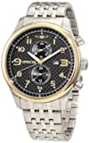 Invicta Men's 10290BBB Specialty Classic Multifunction Black Carbon Fiber Dial Stainless Steel Watch