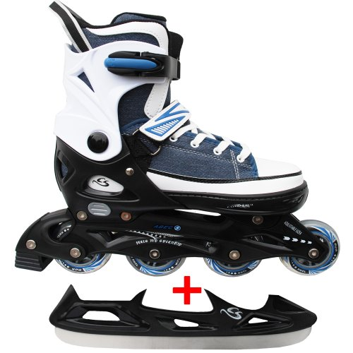 Children Inline & Ice Skates Sneak - Inline + Ice Skate 2 in 1