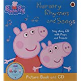 Peppa Pig: Nursery Rhymes and Songs: Picture Book and CDby Ladybird