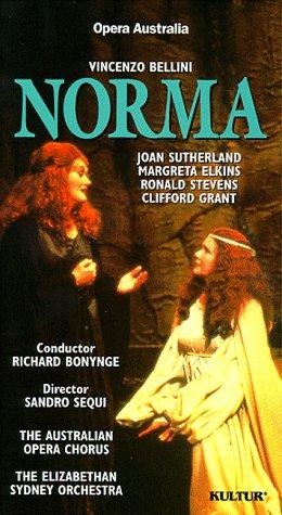 Bellini - Norma / Richard Bonynge, Opera Australia [VHS]