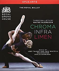 McGregor: Three Ballets (Chroma / Infra / Limen) [Blu-ray] [Import]