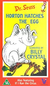 Dr Seuss Horton Hatches An Egg If I Ran The Circus Vhs