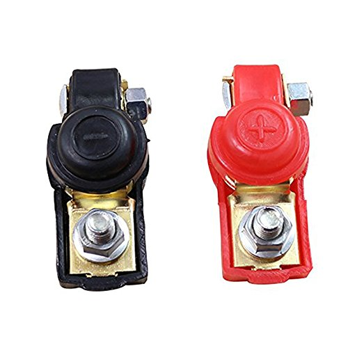 2pcs Car /Truck Battery Terminal Clamp Set Positive & Negative Charging Charge (Car Battery Protector compare prices)