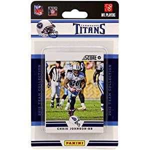 NFL Tennessee Titans 2012 Score Team Set by Panini