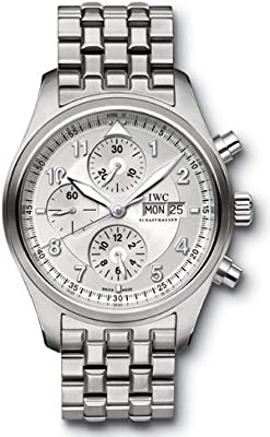 IWC Spitfire Pilot Chronograph Automatic Steel Mens Watch IW371705