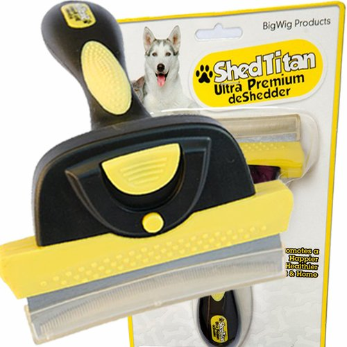 shed titan dog brush reviews