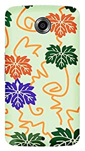 TrilMil Printed Designer Mobile Case Back Cover For LG Google Nexus 6