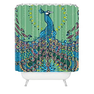 Deny Designs Geronimo Studio Peacock 1 Shower