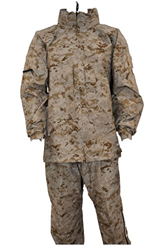 Genuine USMC Lightweight Exposure Suit Jacket GEN III Level 6 Goretex Parka (X-Large) (Gore Tex Rain Suit compare prices)
