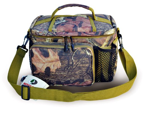 Explorer 12-Can Mossy Oak Top Open Cooler