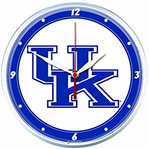 NCAA Kentucky Wildcats Round Clock