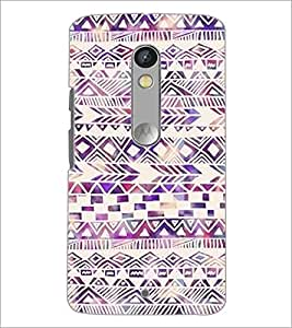 PrintDhaba Pattern D-2188 Back Case Cover for MOTOROLA MOTO X PLAY (Multi-Coloured)