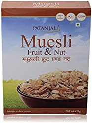 Patanjali Muesli - Fruit and Nut 450g Pack