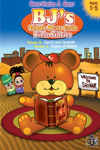 BJ's Teddy Bear Club and Bible Stories Volumes