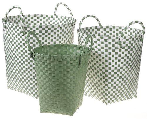 Tadpoles Basics Set of 3 Woven Baskets - Sage - Buy Tadpoles Basics Set of 3 Woven Baskets - Sage - Purchase Tadpoles Basics Set of 3 Woven Baskets - Sage (Sports & Outdoors, Categories)