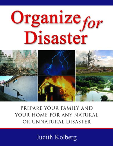 Cover:  Organize for Disaster