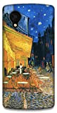 The Racoon Lean Cafe at night - Van Gogh hard plastic printed back case / cover for LG Nexus 5