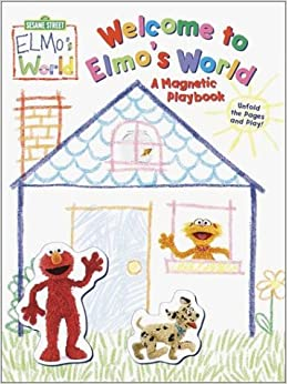 Amazon.com: Welcome to Elmo's World: A Magnetic Playbook