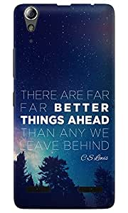 Dreambolic CS-Lewis-Better-Things-Ahead Lenovo A6000 Back Cover