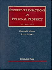 Secured Transactions in Personal Property by William Warren