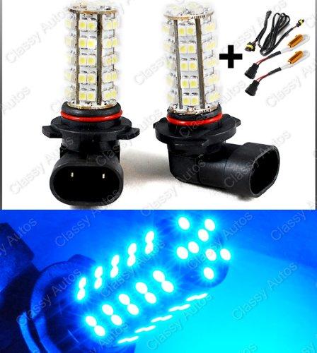 Classy Autos 9005 Ultra Blue Led Bulbs W/ Decoder For High Beam / Daytime Running Lights