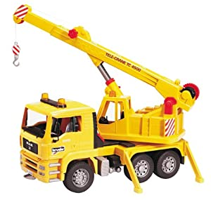 Bruder Toys Bruder MAN Crane Truck at Sears.com