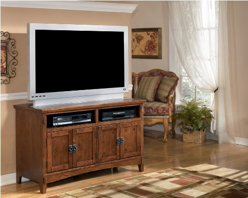 Cheap Rustic Medium Brown TV Stand (W319-28)