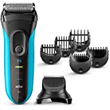Braun 3010BT Series 3 Shave And Style  3-in-1 Electric Wet And Dry Shaver With Precision Trimmer And 5 Comb Attachments...